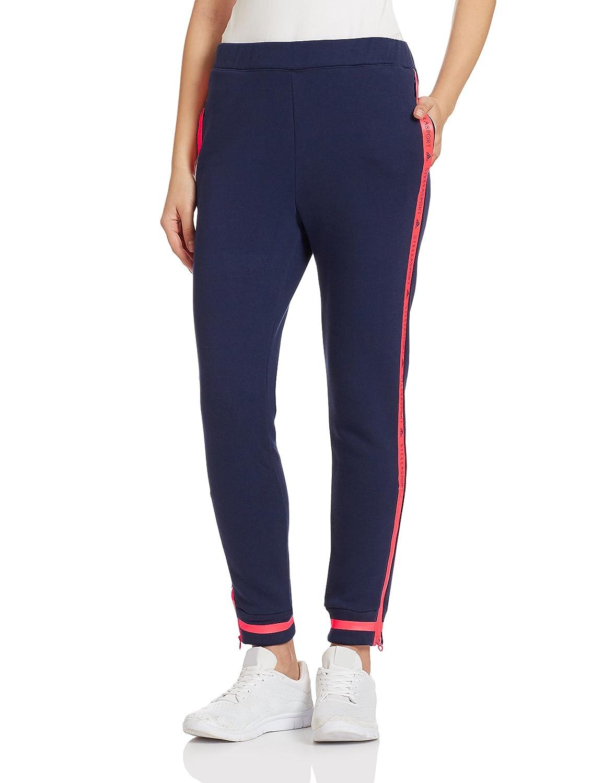adidas Stellasport Mujer Pantalones de chándal, Azul: Amazon.es ...
