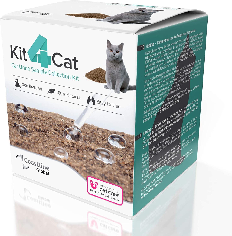 Amazon Com Kit4cat Cat Urine Sample Collection Sand 3 Part Box Pet Supplies