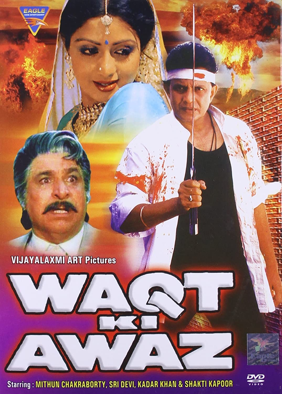 Waqt Ki Awaz 1988 Hindi 720p HEVC HDRip x265 AAC ESubs Full Bollywood Movie [800MB]