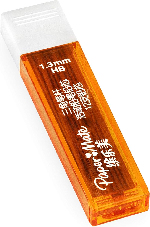 1,3 mm, HB, 6 tubos de 12 minas, 72 minas Paper Mate Minas de recambio para portaminas