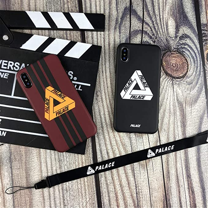 Amazon.com: Tide Palace Strap Off Soft Silicon Phone Case for iPhone Lanyard Capa Black for iPhone XR Case & Strap: Cell Phones & Accessories