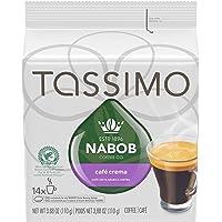 Tassimo Nabob Café Crema Single Serve T-Discs, 14 T-Discs