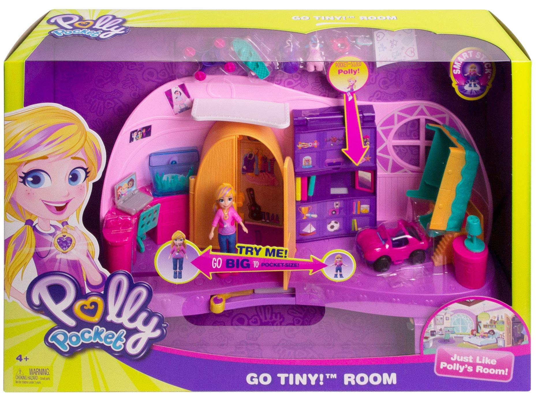 Polly Pocket Transformation Playset by Mattel (Image #5)