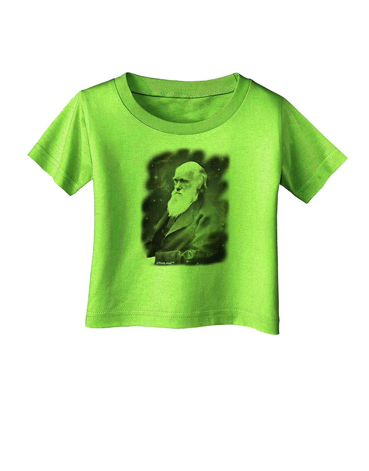 TooLoud Charles Darwin in Space Infant T-Shirt