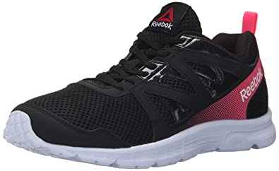 Reebok Women's Run Supreme 2.0 MT Running Shoe, Black/Solar Pink, ...