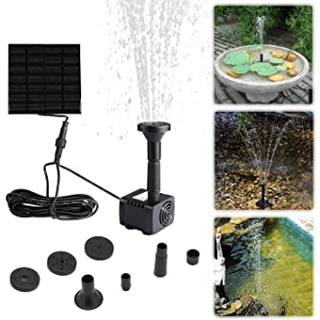 Außergewöhnlich Liqoo Solar Pumpe Springbrunnen Teichpumpe für Garten, Wasserpumpe #CO_39