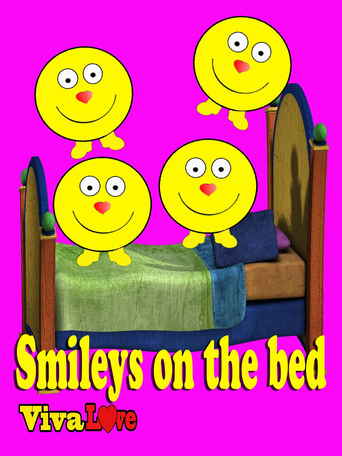 Smileys on the bed on Amazon Prime Video UK