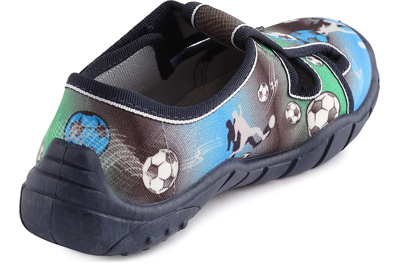 Ladeheid Chaussure Fermeture /à Scratch Basket Gar/çon LAVI0012