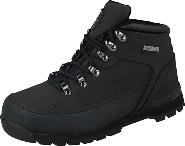 MENS GROUNDWORK SAFETY WORK NEW STYLE STEEL TOE LIGHTWEIGHT TRAINERS SHOES SIZE