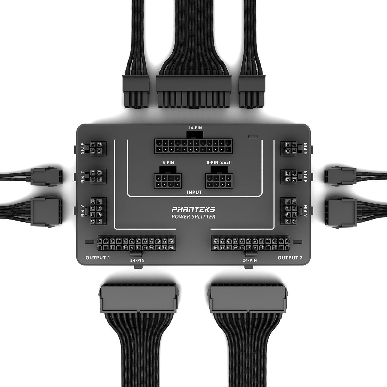 Phanteks - Power Splitter de energía: Amazon.es: Electrónica
