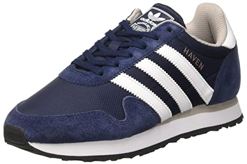 Adidas Haven, Zapatillas de Deporte para Niños, Azul (Maruni/Ftwbla/Gracla 000), 37 1/3 EU: Amazon.es: Zapatos y complementos