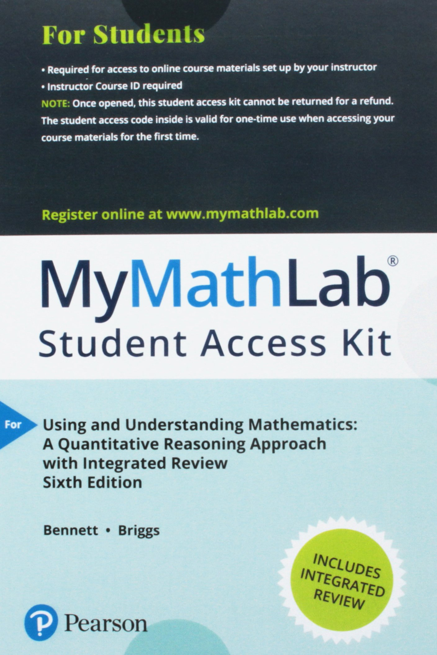 Using and Understanding Mathematics with Integrated Review and ...