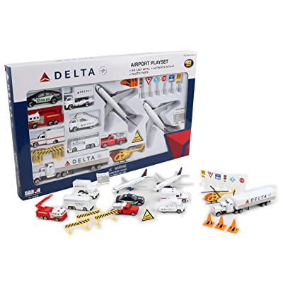 Delta 25pc. Airport Play Set: Toys & Games