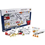 ダロン・ワールドワイド・トレーディング デルタ航空 空港プレイセット 25ピース RT4992
