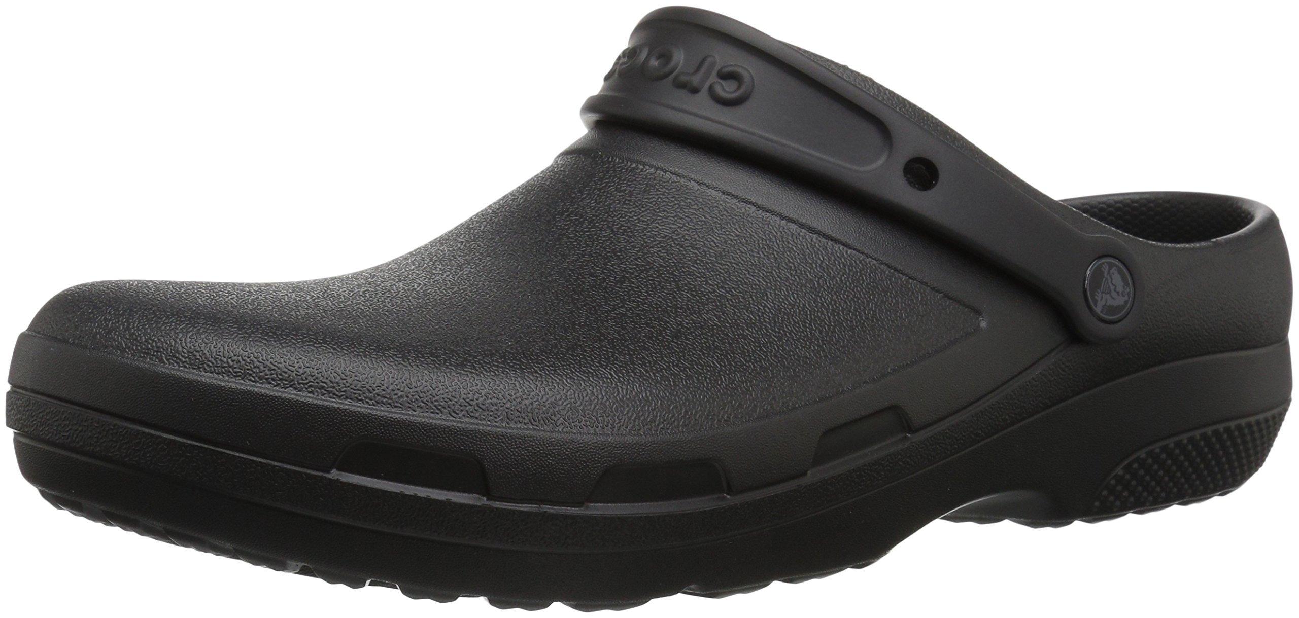 Crocs Specialist II Clog, Black, 9 US Men/11 US Women M US