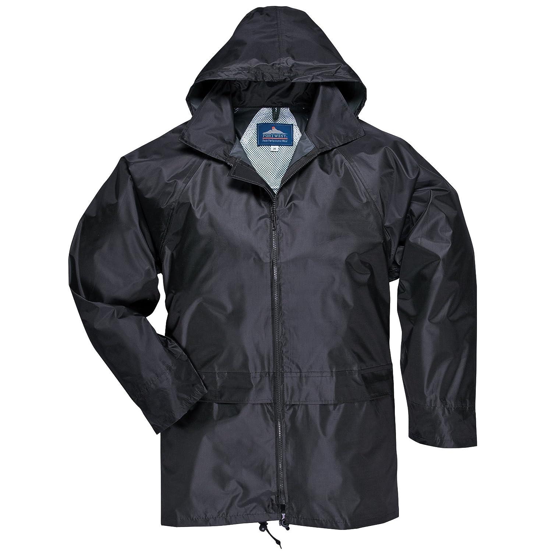 Portwest Classic Rain Jacket, Small to XXL, 3 colours - Black - 2XL UnAssigned UTRW1022_15