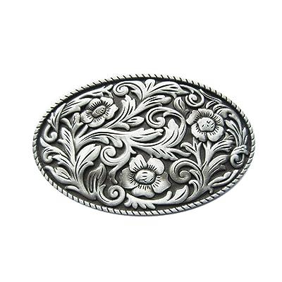 a0648e2518e Inconnu Schnalle123 - Boucle de ceinture - Femme Argenté Silber Taille  Unique