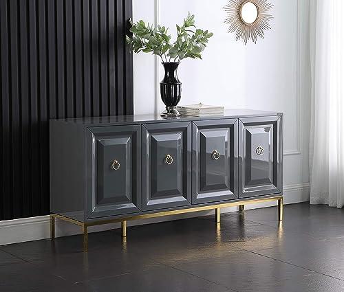 Master Furniture Tatiana High Gloss Lacquer Sideboard/Buffet