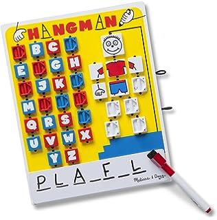 Amazon magnetic travel game of hangman car games airplane melissa doug flip to win travel hangman game white board dry erase solutioingenieria Image collections
