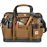 Carhartt Legacy Tool Bag 18-Inch w/ Molded Base, Carhartt Brown