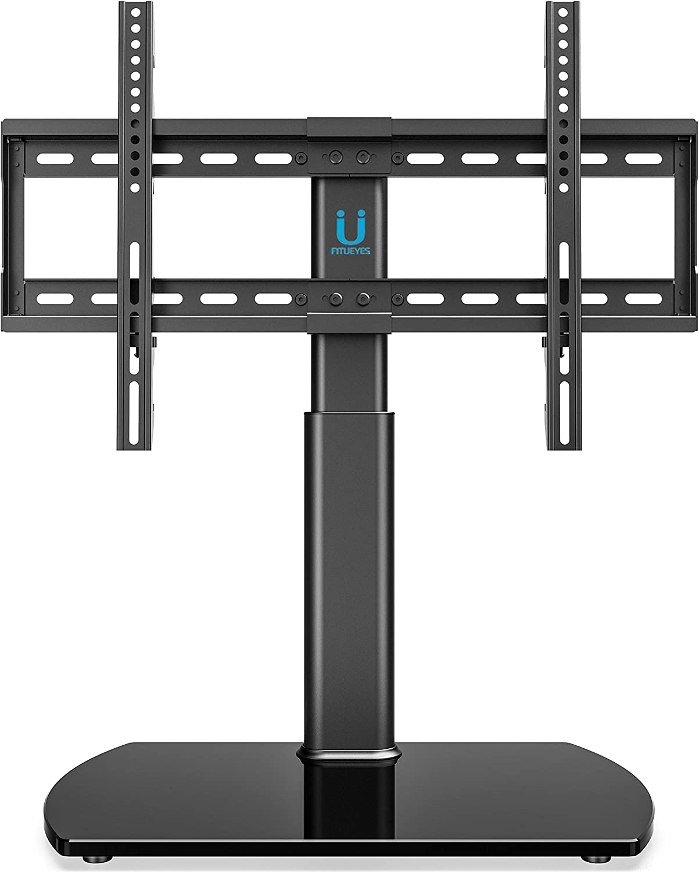 FITUEYES Soporte de TV de 32-65 Pulgadas Altura Ajustable Soporte de Mesa para TV LCD LED OLED Plasma Plano Curvo TT107001GB: Amazon.es: Electrónica