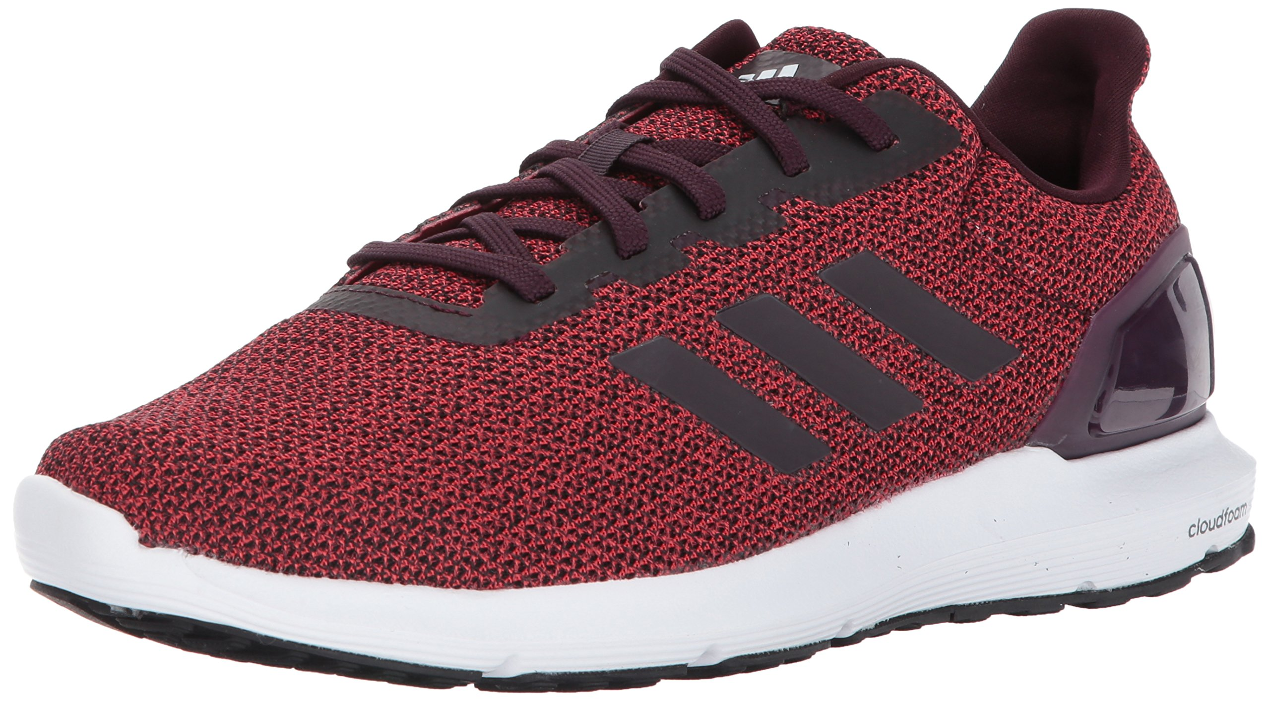 adidas Men's Cosmic 2 Sl m Running Shoe, Dark Burgundy/Dark Burgundy/Tactile Red, 12 Medium US by adidas