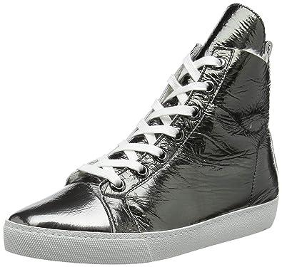 d2bef5ac77a2 Högl Damen Coolista Hohe Sneaker, mehrfarbig (weiß gun 0273), 36 EU