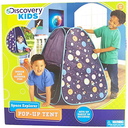 sc 1 st  Amazon.com & Amazon.com: Discovery Kids space explorer pop-up tent: Toys u0026 Games