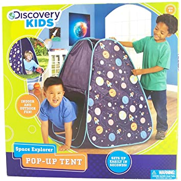 Discovery Kids space explorer pop-up tent  sc 1 st  Amazon.com & Amazon.com: Discovery Kids space explorer pop-up tent: Toys u0026 Games