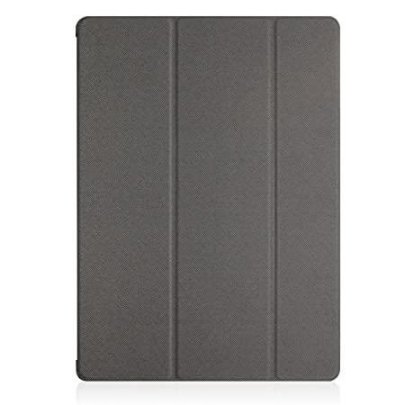 KHOMO iPad 2017 and 2018 9.7 inch Case - Dual Series - Ultra Slim Hard Cover with Auto Sleep Wake Feature - Grey