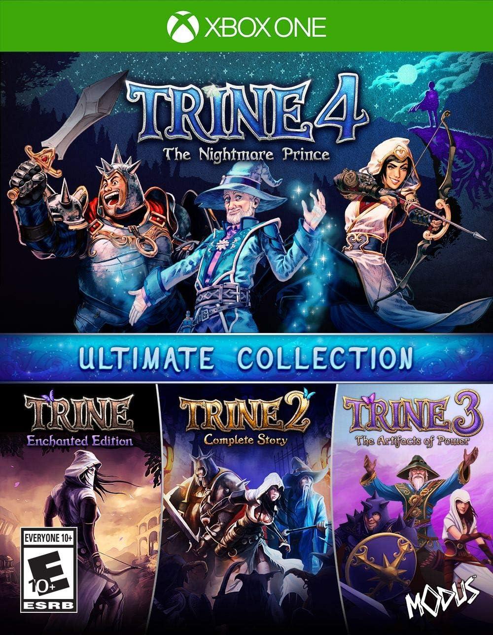 Amazon com: Trine Ultimate Collection (XB1) - Xbox One