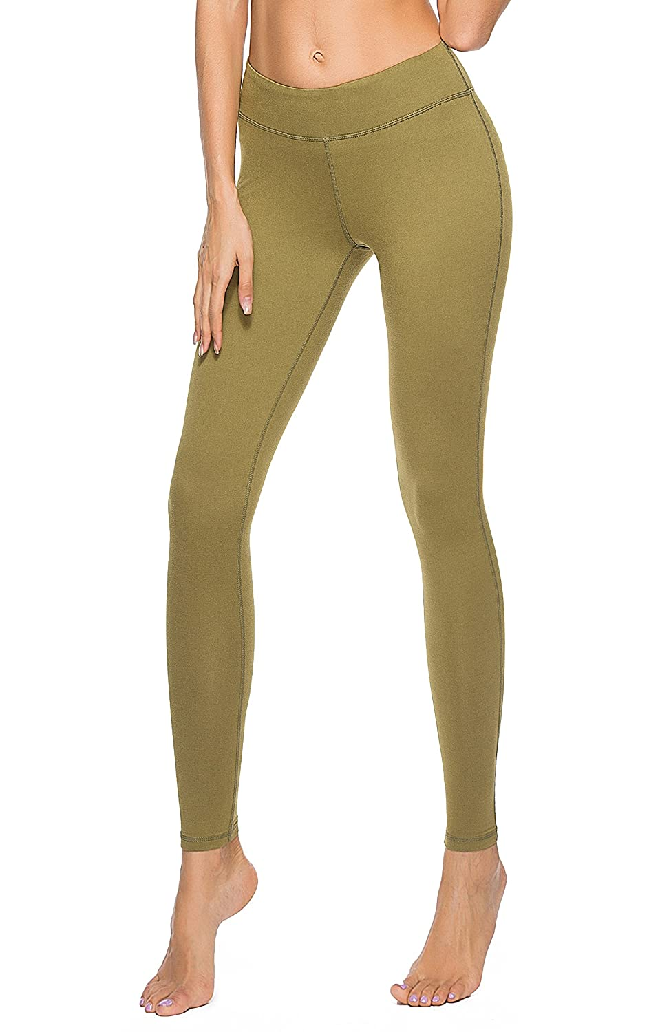 be19b0ec6f4b5b ☆The WORKOUT LEGGINGS are made out of a soft, solid, stretchy material that  wicks all the sweat away. Comprised of 88% Polyester and 12% Spandex, ...