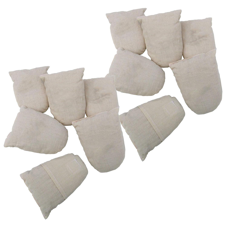 Household Essentials CedarFresh Natural Shoe Deodorizer ReFresh Cedar Bag Inserts for Shoes and Shoe Racks, Set of 6 Hosuehold Essentials 58106
