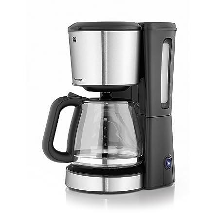 WMF Bueno 04.1225.0011 - Cafetera (Independiente, Cafetera de filtro, 1,7 L, De café molido, 1000 W, Negro, Cromo)