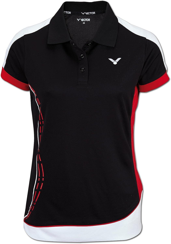 VICTOR Damen Polo-Shirt Function black 6875