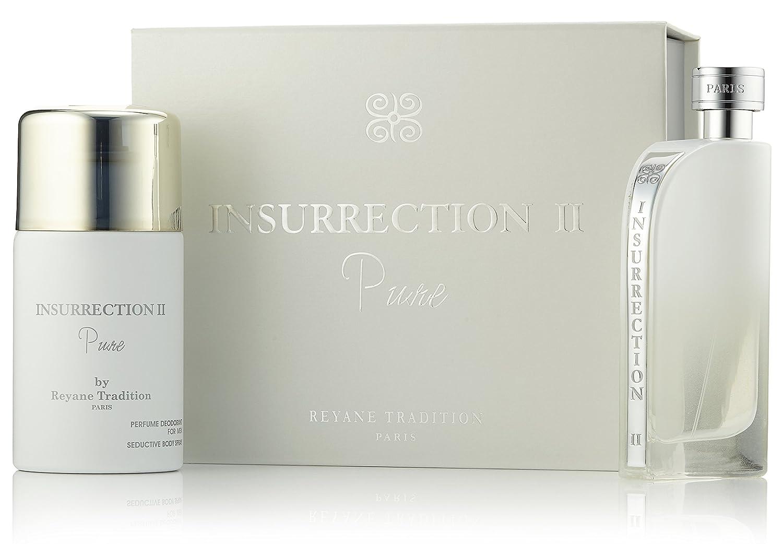 Coffret Reyane Tradition Insurrection II Pure Eau De Toilette 100 ml + Deodorant 250 ml Reyanne Tradition