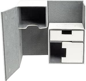 Ultimate Guard UGD10228 Twin Flip n Tray Case 160 Plus - Estuche para Cartas (Material Xenoskin), Color Blanco: Amazon.es: Juguetes y juegos