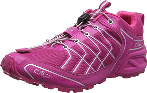 CMP Zapatillas de trail running MujerSuper X rosa Size: 40: Amazon ...