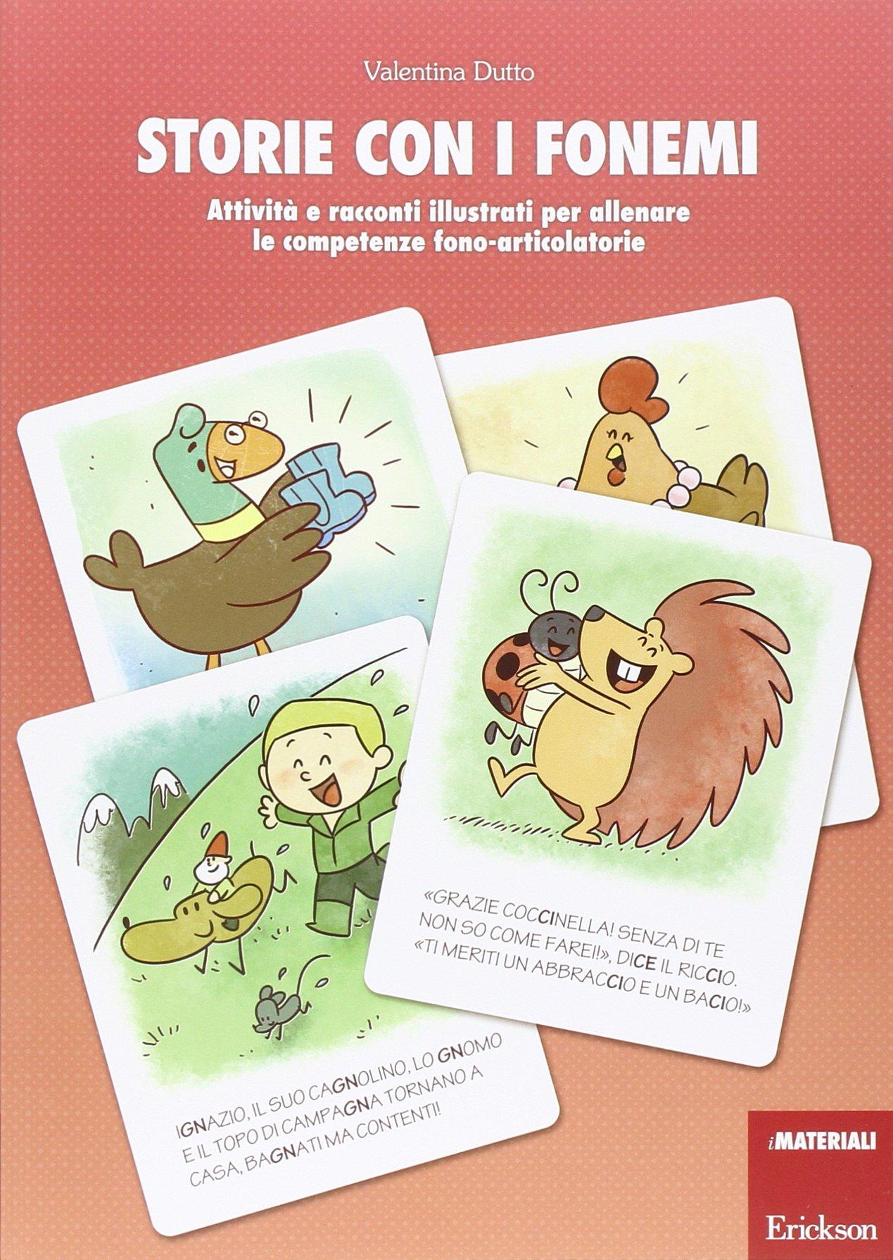 Amazonit Storie Con I Fonemi Altre Attività E Racconti Illustrati
