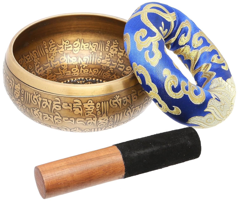 Singing bowl meditation crown chakra set