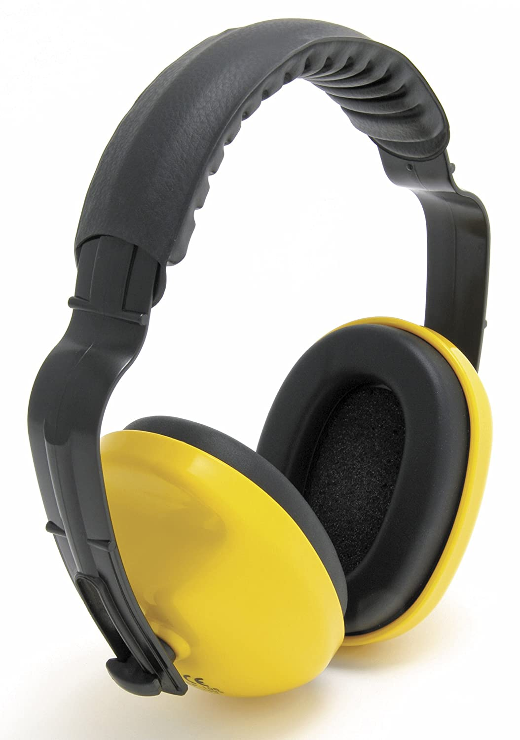 Baratec Yellow Cushioned And Adjustable Headband Ear Defenders Ear Muffs SNR 25 db