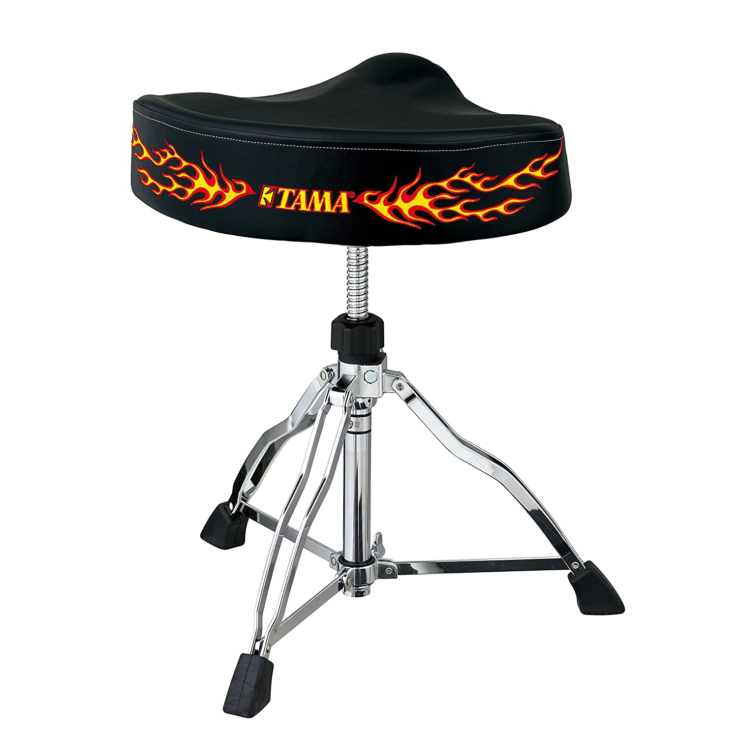 Tama Hot Seat Wide Rider Drum Throne - Leather Top HT530FE