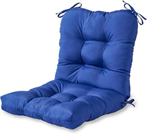 Greendale Home Fashions AZ5815-MARINE Blue 42'' x 21'' Outdoor Seat/Back Chair Cushion