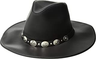 product image for Henschel Dude, Dakota Leather with Conchos & tie-Back Band