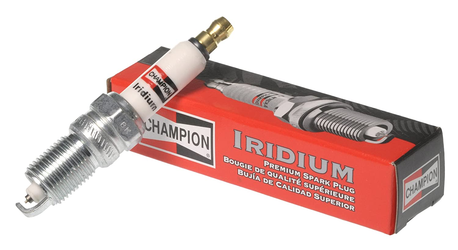 Amazon.com: Champion QC8WEP (9809) Iridium Replacement Spark Plug, (Pack of 1): Automotive