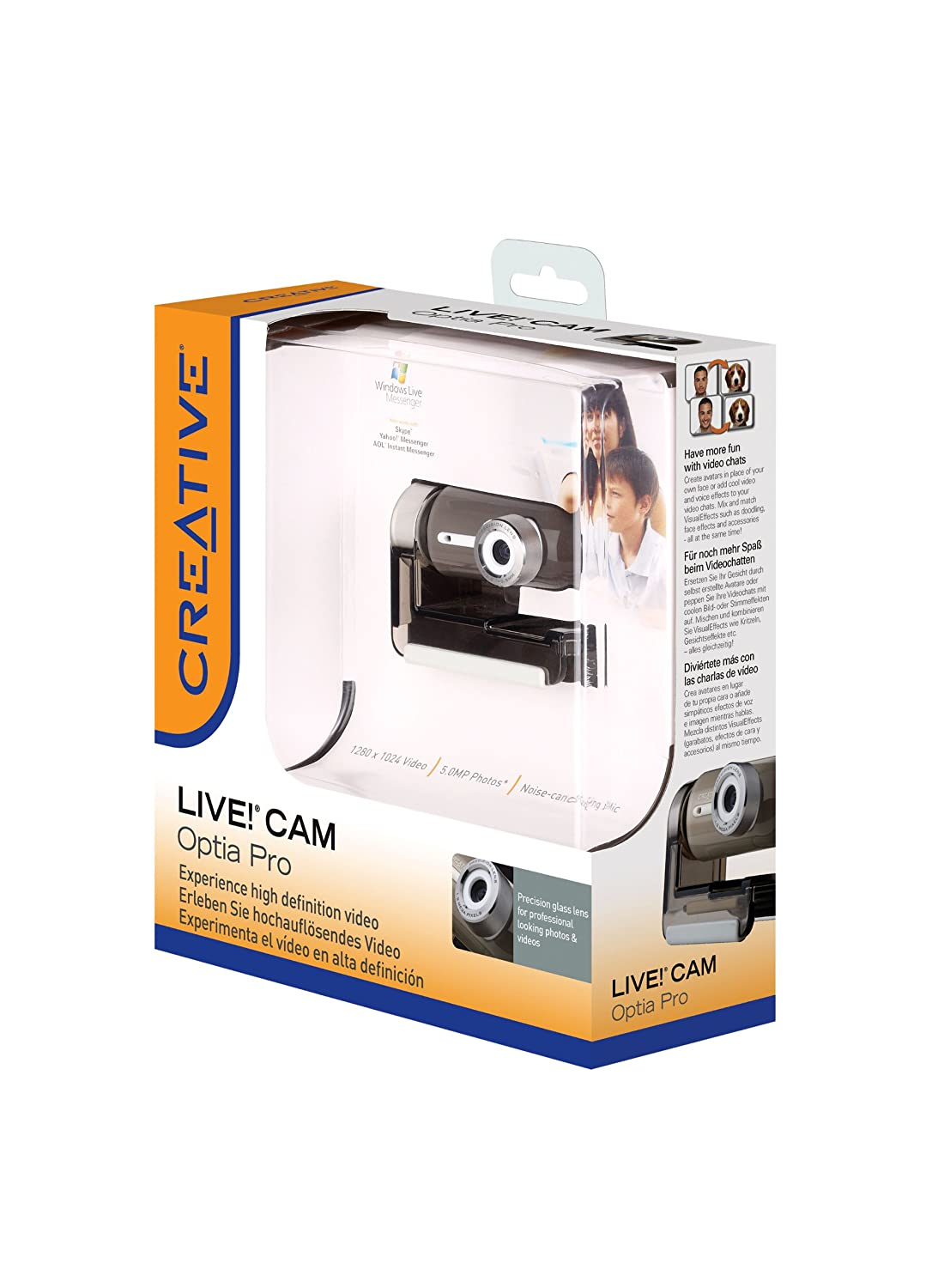 CREATIVE LIVE! CAM OPTIA PRO WINDOWS 7 DRIVERS DOWNLOAD (2019)