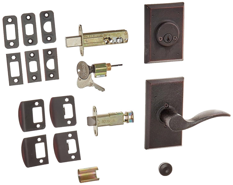 Weslock L7802-H1SL2D Aspen Interior Entry Handle, Oil-Rubbed Bronze