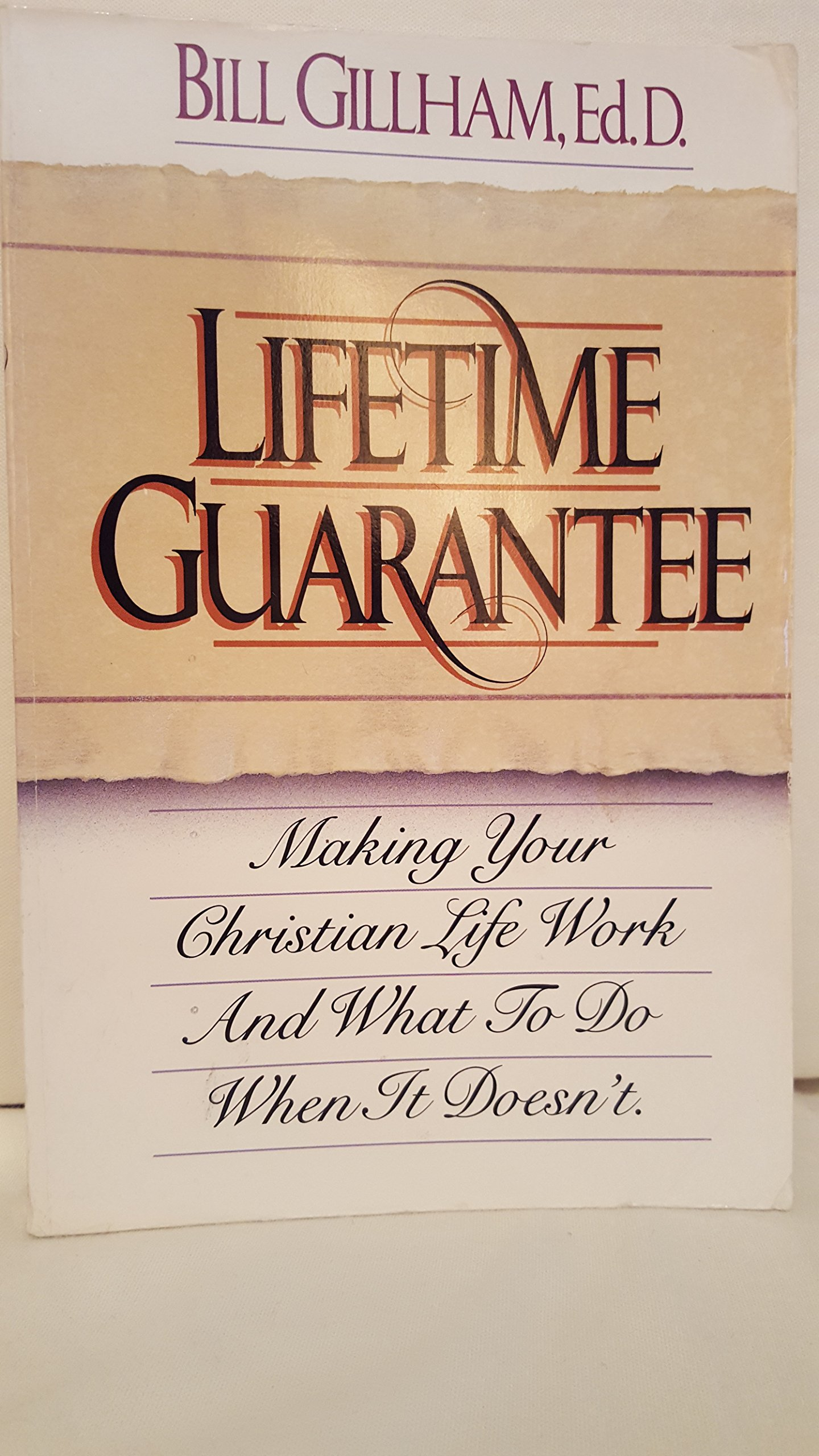 Lifetime Guarantee Bill Gillham product image