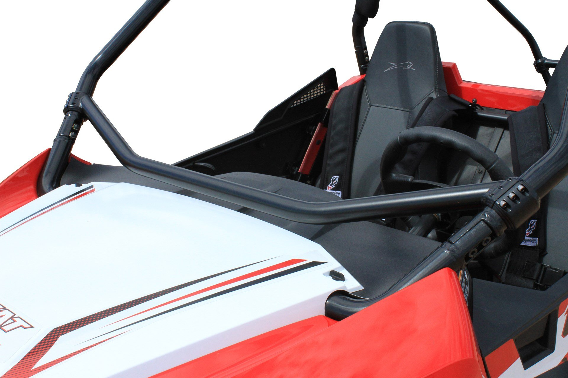 Bundle 2 items: Dragonfire Racing RockSolid Dash Bar for Wildcat Trail/Sport and Free Unhinged ATV HAT!