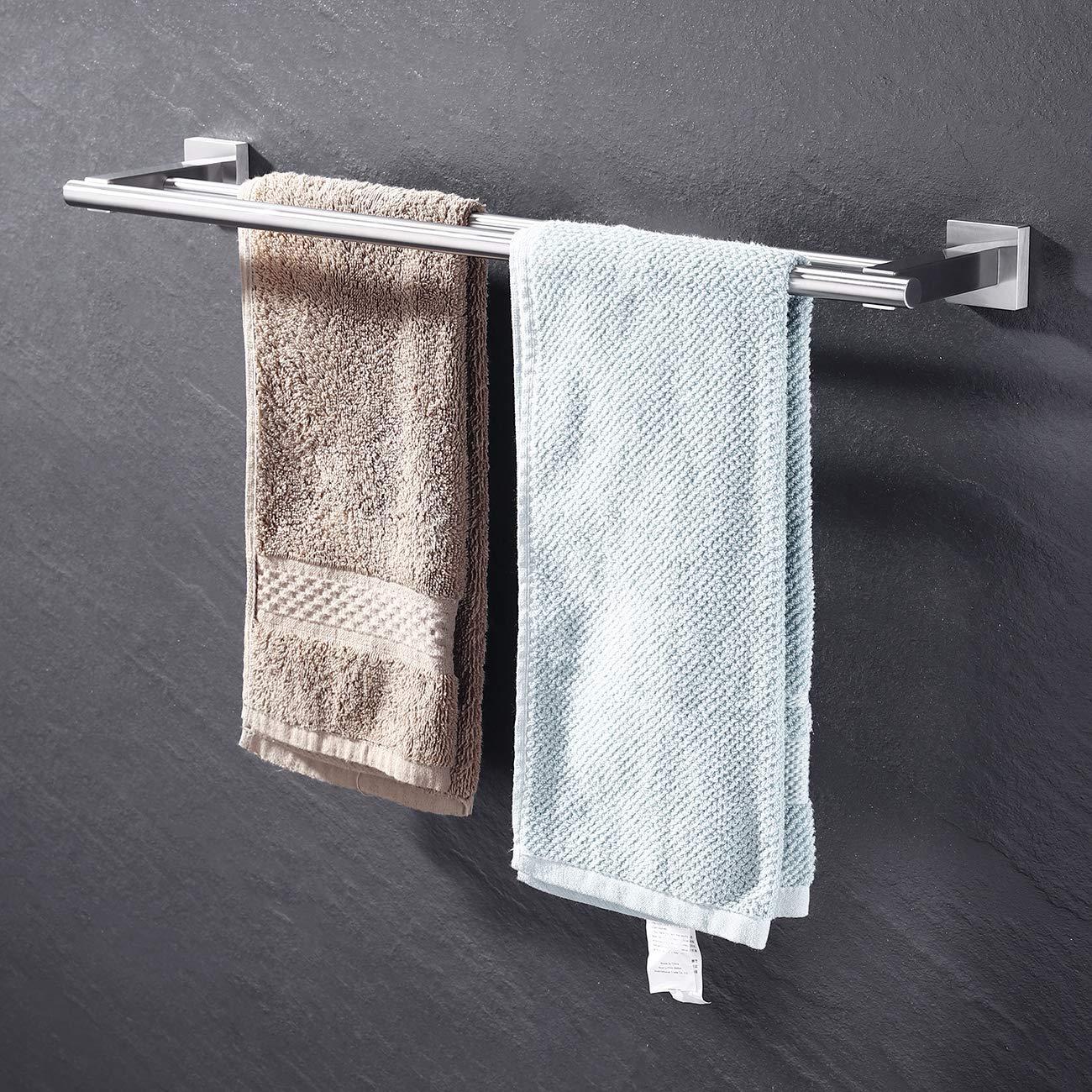 Amazon.com: Kes A2201 - Toallero de pared para baño (acero ...
